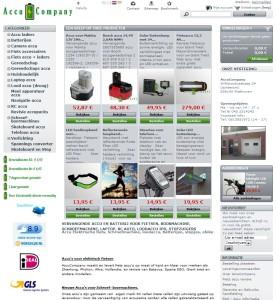 Webwinkel AccuCompany