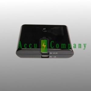Powerbank met hoge capaciteit voor herladen van uw telefoon.