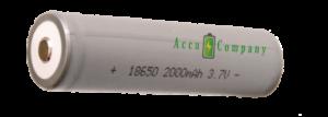 Batterij li-ion 18650 3.7 volt