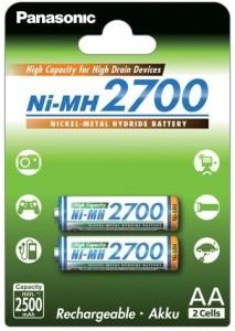 Hoge capaciteit AA batterij van Panasonic