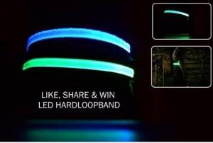 Win een LED riem voor fietsen, paardrijden of hardlopen
