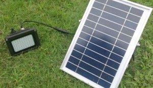 LED op zonne energie