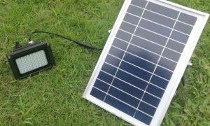 Zonne Energie Buitenverlichting 500 LUMEN MET LI-ION BATTERIJ